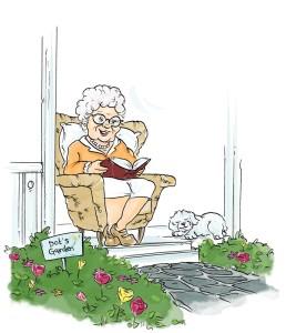 Grandma Dot & Bonnie 1
